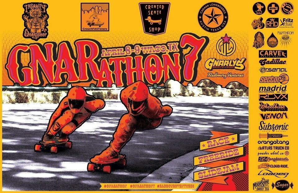 Gnarathon 7 Waco Texas Downhill Longboarding